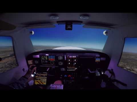 April 2017 Fly In On PilotEdge (X-Plane Home Cockpit)