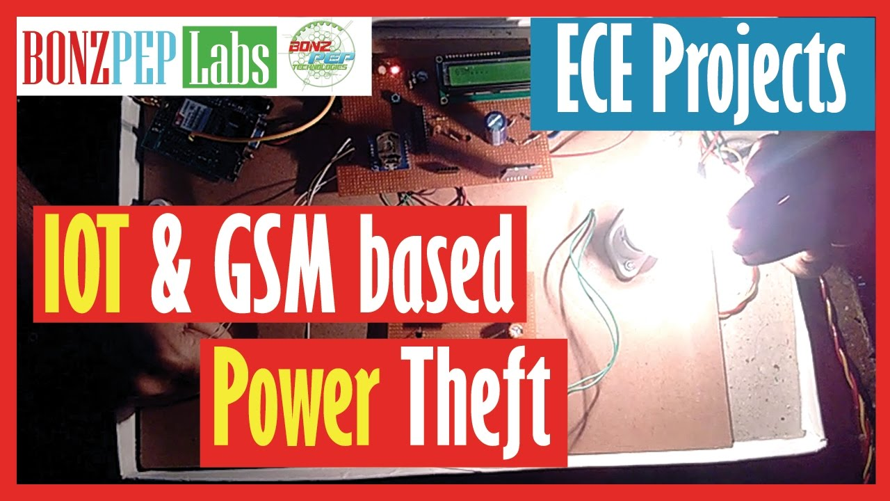 Gsm Based Powertheftmonitoring And Controlling System T