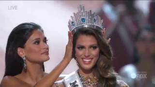 Miss Universe 2016 Iris Mittenaere Crowning Moment(Iris Mittenaere of France is crowned Miss Universe 2016 during the MISS UNIVERSE Competition on FOX January 29th in Manila, Philippines., 2017-01-30T03:42:58.000Z)