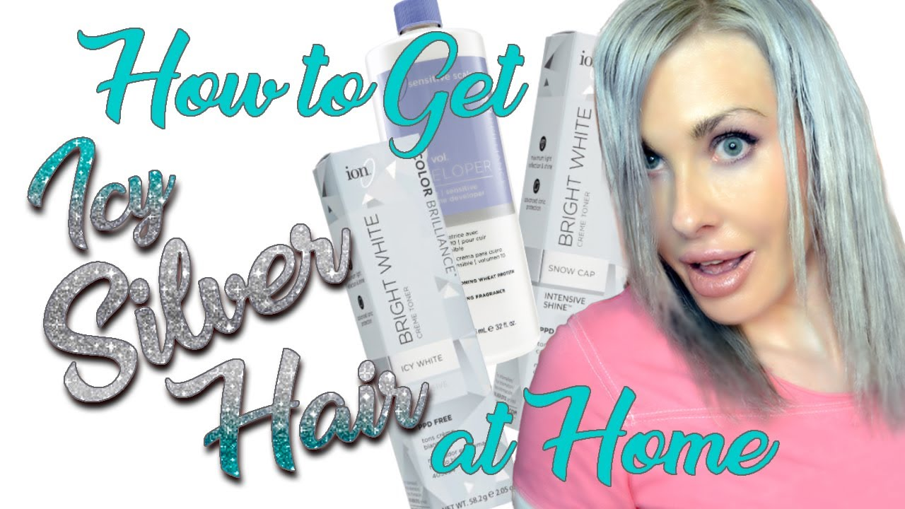 How To Get Icy Silver Hair At Home Ion S New Bright