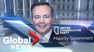 Alberta Election 2019: United Conservative Party wins majority government