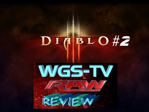 WWE Monday Night RAW 9/16/13 Review (Diablo III Demo pt 2) Travel Video