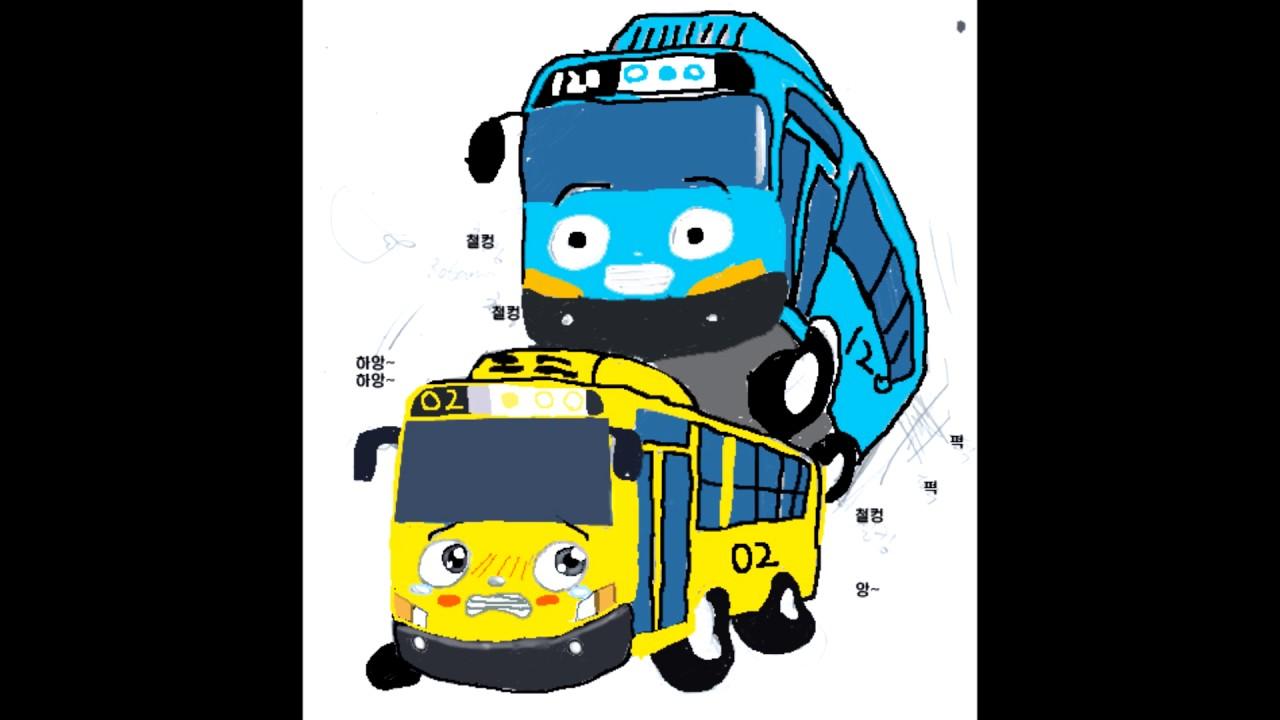 Autobus Del Porno mi reaccion a la regla 34 de tayo el pequeño autobus 18+