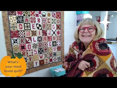 What Is Your Most Well Loved Quilt?  Pat Sloan Oct 18 Quilt Topic 2020