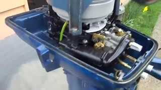 Evinrude Horse Leaking Exhaust Cover