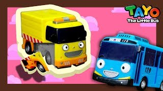 Clean up the street with Rubby l Tayo Mini Game l Tayo the Little Bus