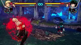 Video My Hero Academia: One's Justice - Muscular vs Deku Gameplay Teaser (HD) download MP3, 3GP, MP4, WEBM, AVI, FLV Juli 2018