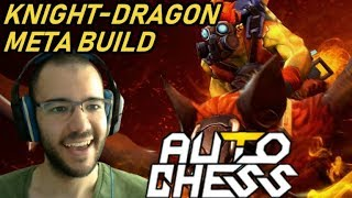 Knight-Dragon Is Meta Build And I Like It! | Dota Auto Chess Gameplay 107