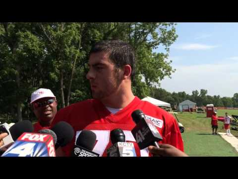Chiefs' Eric Fisher In Camp Tuesday