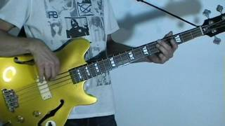 The Hollies Stop Stop Stop Bass Cover