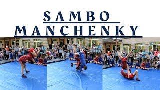 САМБО Манченки.Показательные выступления на день поселка Манченки