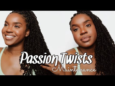 "HOW I MAINTAIN MY ""PASSION TWISTS"" AFTER 3 WEEKS! 