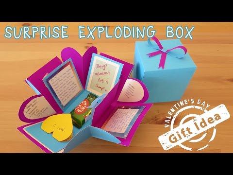 $2 Gift Idea   Surprise Exploding Box   Sunny DIY