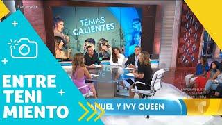 """La """"pelea"""" entre Anuel AA e Ivy Queen pica y se extiende   Un Nuevo Día   Telemundo"""