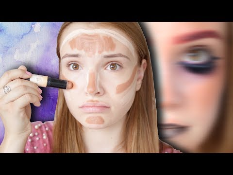 CELÝ MAKE-UP NAOPAK │CHALLENGE