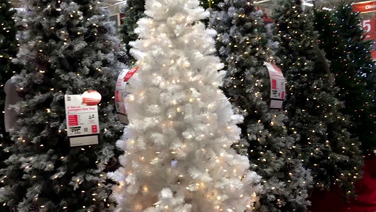 home depot christmas tree display - Home Depot Christmas Tree