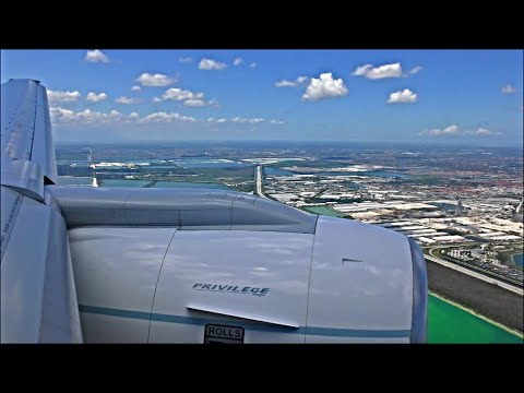 RARE! - Privilege Style Boeing 777-212(ER) | London Gatwick to Miami *Full  Flight*