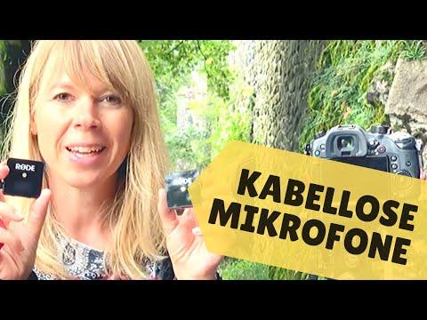 KABELLOSE MIKROFONE: Mehr Bewegungsfreiheit Beim Filmen