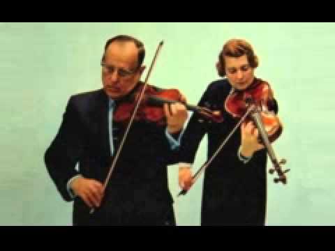 Mozart Sinfonia Concertante in E flat Major, K 364 Joseph Fuchs,Lillian Fuchs,Pablo Casals 1953