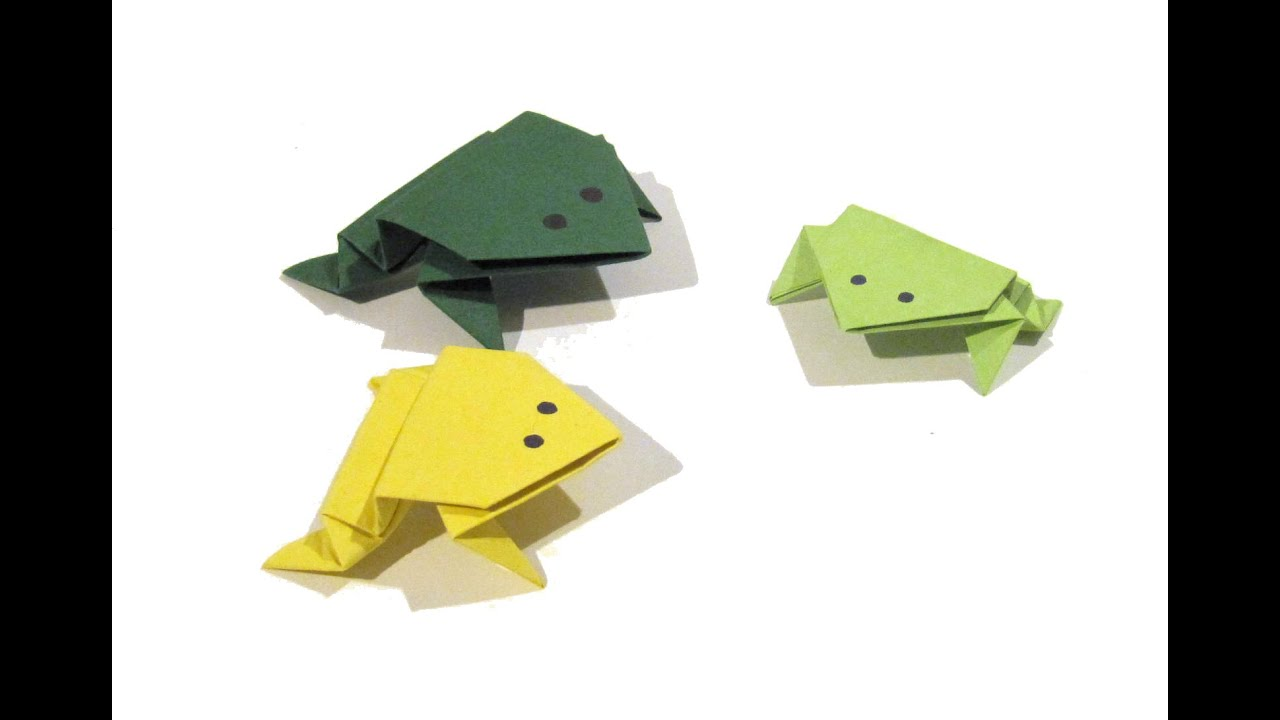 Origami frog origami tutorial how to make an easy origami frog origami frog origami tutorial how to make an easy origami frog easy jeuxipadfo Images