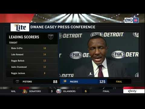 Pistons LIVE 12.28.18: Dwane Casey