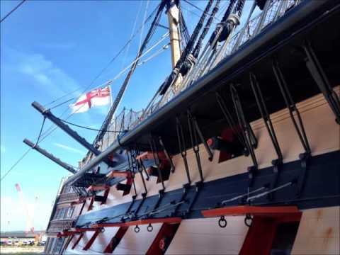 HMS Victory on BBC Radio Solent