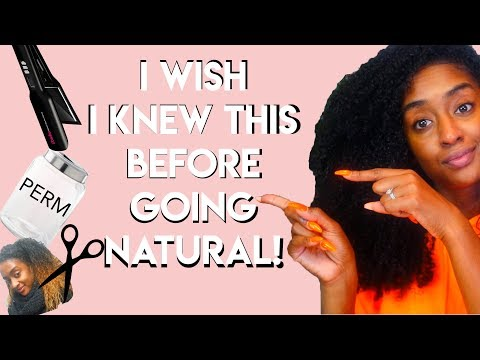 GOING NATURAL: EXPECTATIONS VS REALITY! | Tiffany Laibhen | @TiffanyLaibhen