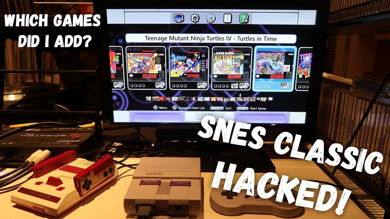 SNES Classic Officially HACKED! - Hakchi2 EASY INSTALL