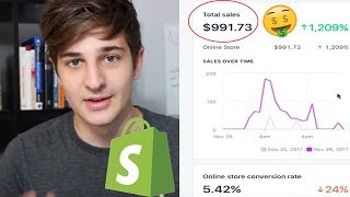 $991 IN 14 HOURS HERES WHAT I DID (Steps) - Shopify Dropshipping