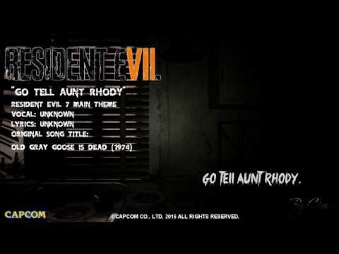 Resident Evil 7 - Main Theme ''Go Tell Aunt Rhody'' [HD] Lyrics
