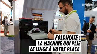 Ces 2019 Finie La Corvee De Pliage De Linge Une Machine Le Fait Pour Vous Youtube