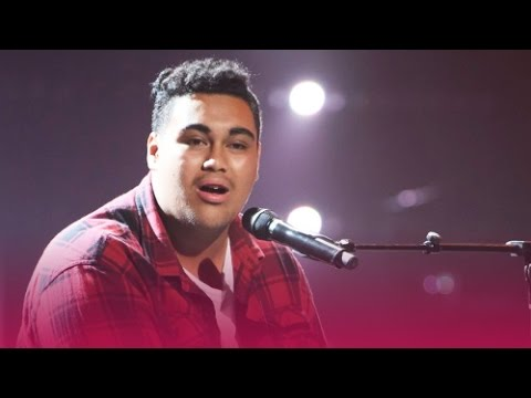 'Almost Is Never Enough' by Hoseah Partsch | The Voice AU 2017 | audio