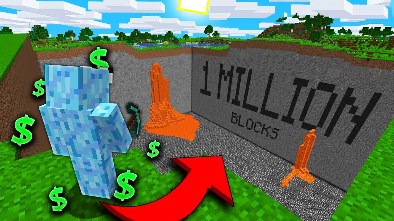 MINING 1 MILLION BLOCKS! | Minecraft Prisons