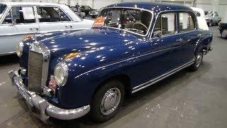 1957 Mercedes-Benz Ponton 220 S - Hamburg Motor Classics 2018