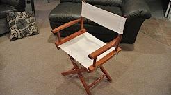 Director's chair restoration