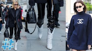 Oversized Sweater & White Boots TAKE OVER Fall Fashion! | Trending Topics