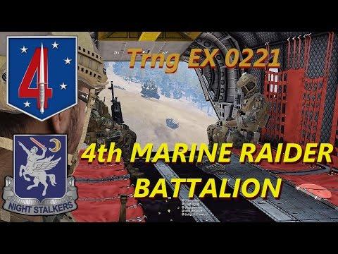4th Marine Raider Battalion, Trng EX 0221