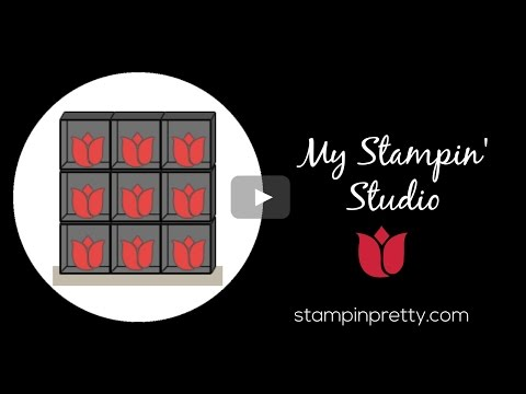Stampin' Pretty Tutorial:  My Ultimate Stamping Zone