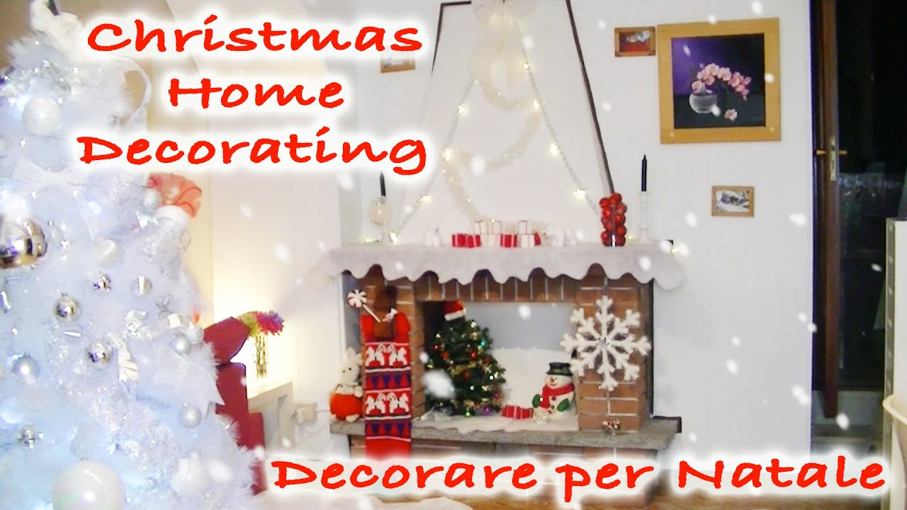 Decorare Caminetto A Natale Decorazioni Per Natale Christmas Home Decor