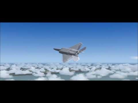 FS2004 - Lockheed Martin F-22 Raptor