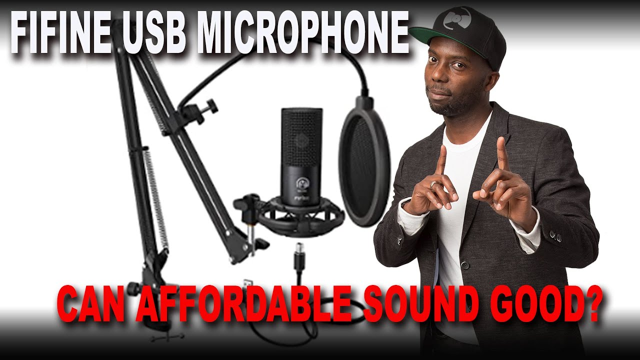 Fifine USB Microphone - A great Low Cost USB Microphone for Video Streamers and Video Calls.