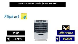 Voltas 60 L Desert Air Cooler (White, MEGA60E)