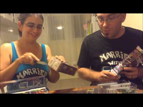 Married With Clix - Guardians of the Galaxy Unboxing [Heroclix]