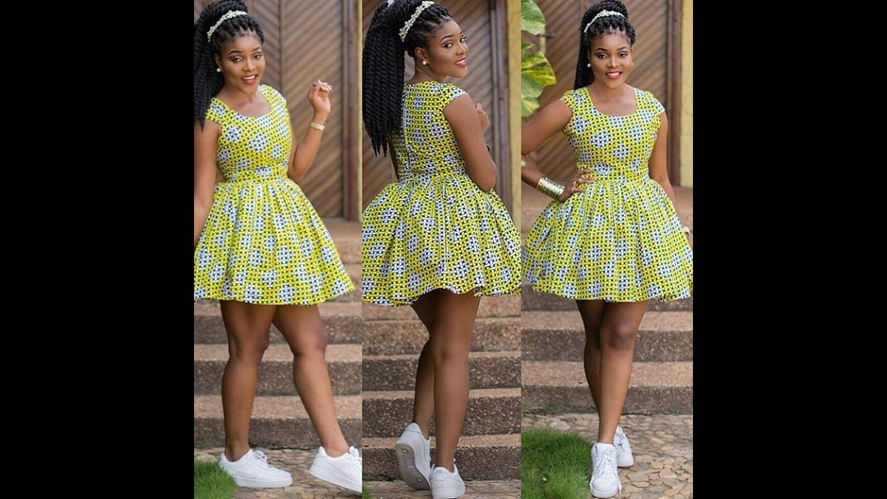 VOL#18 : ANKARA MINI GOWN STYLES FOR CORPORATE APPOINTMENT