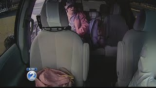Surveillance video shows escapee in taxi, dispatcher says