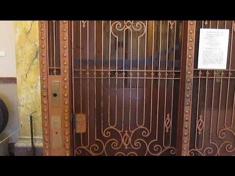 (2016 Christmas Special) Vintage Otis Birdcage Elevator @ Pioneers Museum in Colorado Springs, CO