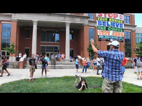 Atheists, Hypocrites, Jews & Freshmen at WKU | Kerrigan Skelly of PinPoint Evangelism