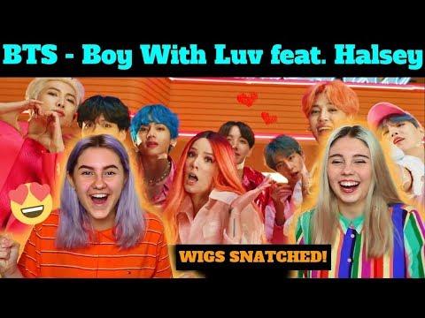 BTS (방탄소년단) '작은 것들을 위한 시 (Boy With Luv) feat. Halsey' Official MV REACTION (BTS REACTION)