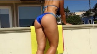 Best of Brazilian Butt Lift Workout with Sexy Carol S!! Part 1