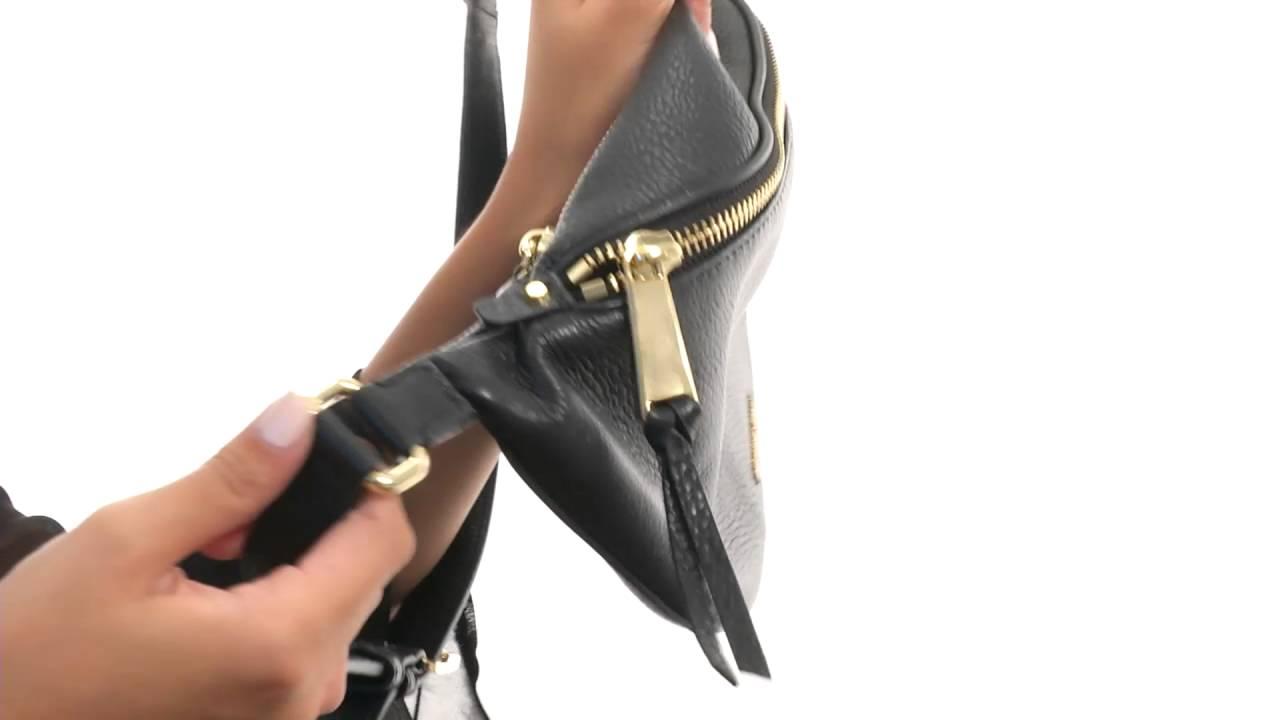 1d0b9d4965b0 MICHAEL Michael Kors Rhea Zip Belt Bag SKU:8752533 - YouTube